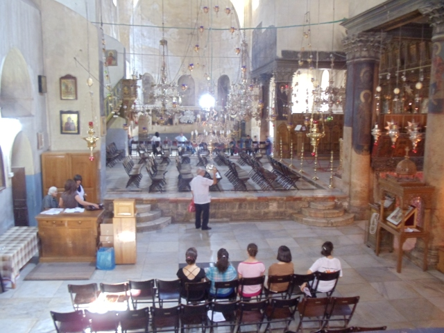 The Church of the Nativity- Bethlehem